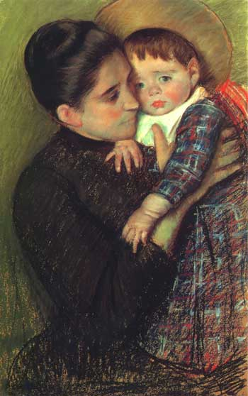 Woman with her Child, 1889/1890