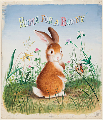 Cover for Home for a Bunny, 1956