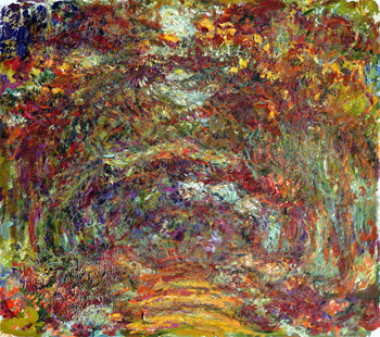 Path under the Rose Arches, Giverny, 1918–1924