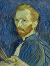 Vincent van Gogh's Self-Portrait from the National Gallery of Art