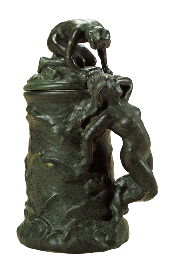 Mermaid and Fisherboy, about 1897