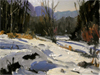 A Winter Plein Air Invitational Exhibition at Fechin House ~The Signature and Master Signature Members of Plein Air Painters of New Mexico