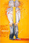 Graphic Intervention: 25 Years of International AIDS Awareness Posters 1985–2010